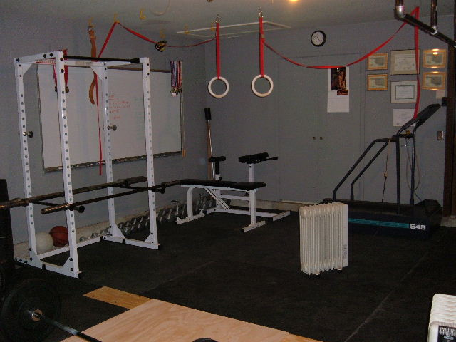 "The ""Garage Gym"".  Soon we will be moving into the new facility at 395 W. K Place in Jenks, OK."