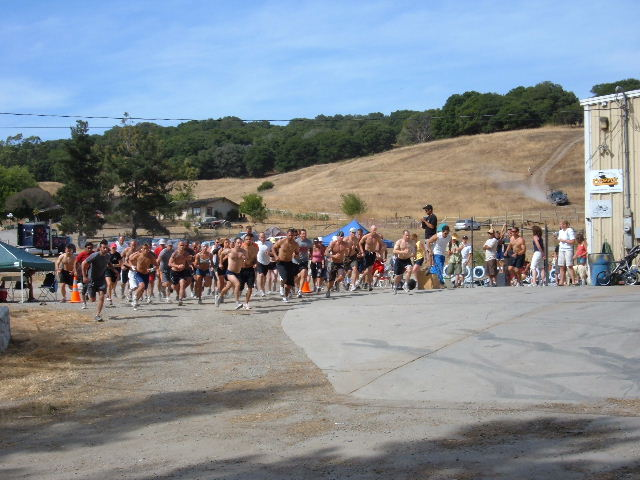 CrossFit Games Trail Run