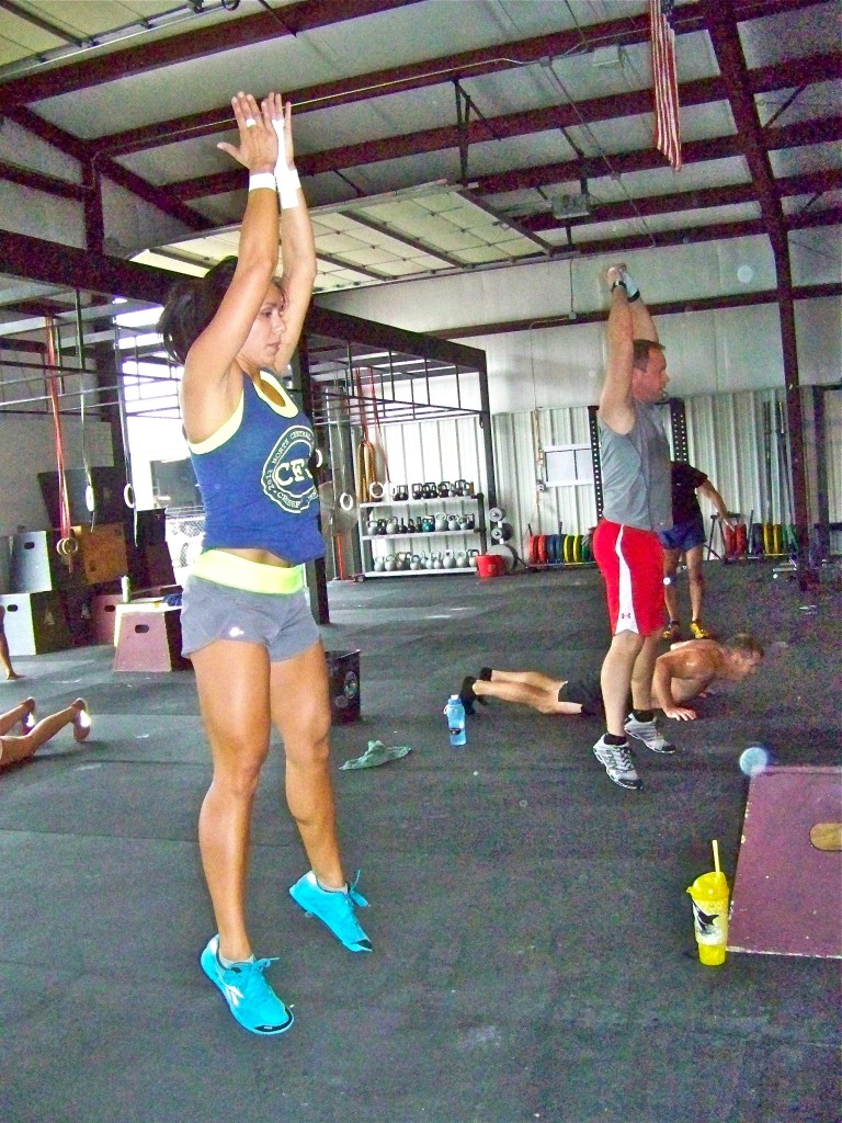 Cindi & Jim (Burpees)