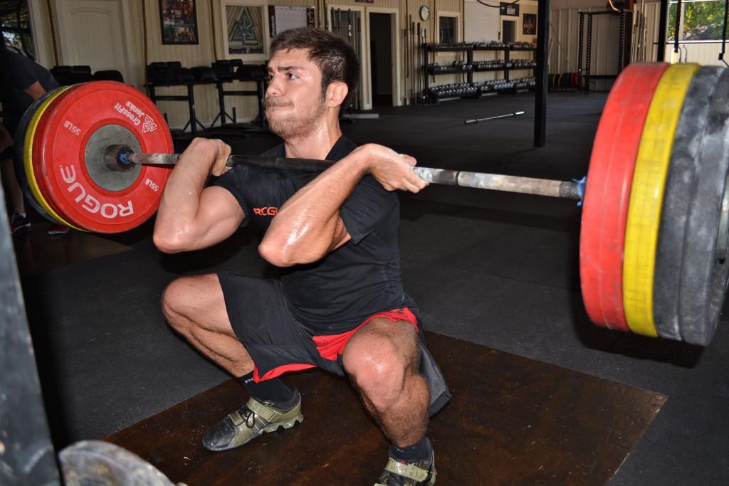 David G (Front squat)