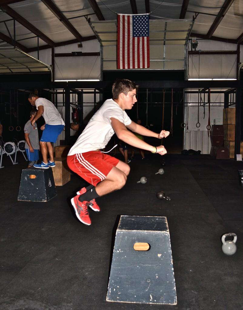 Dominic (Box Jump)