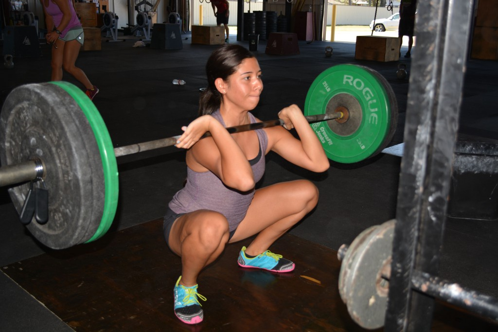 Stephanie (Front squat)