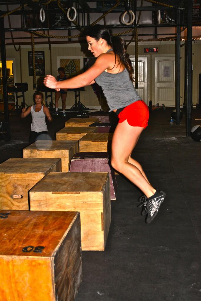 Dana (Box jump)