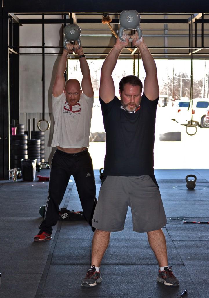 Diener & Dupler (KB swings)