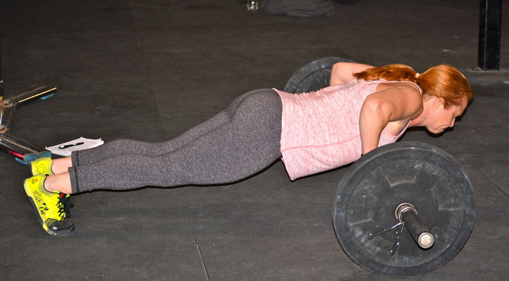 Shannon (Barbell push-up)