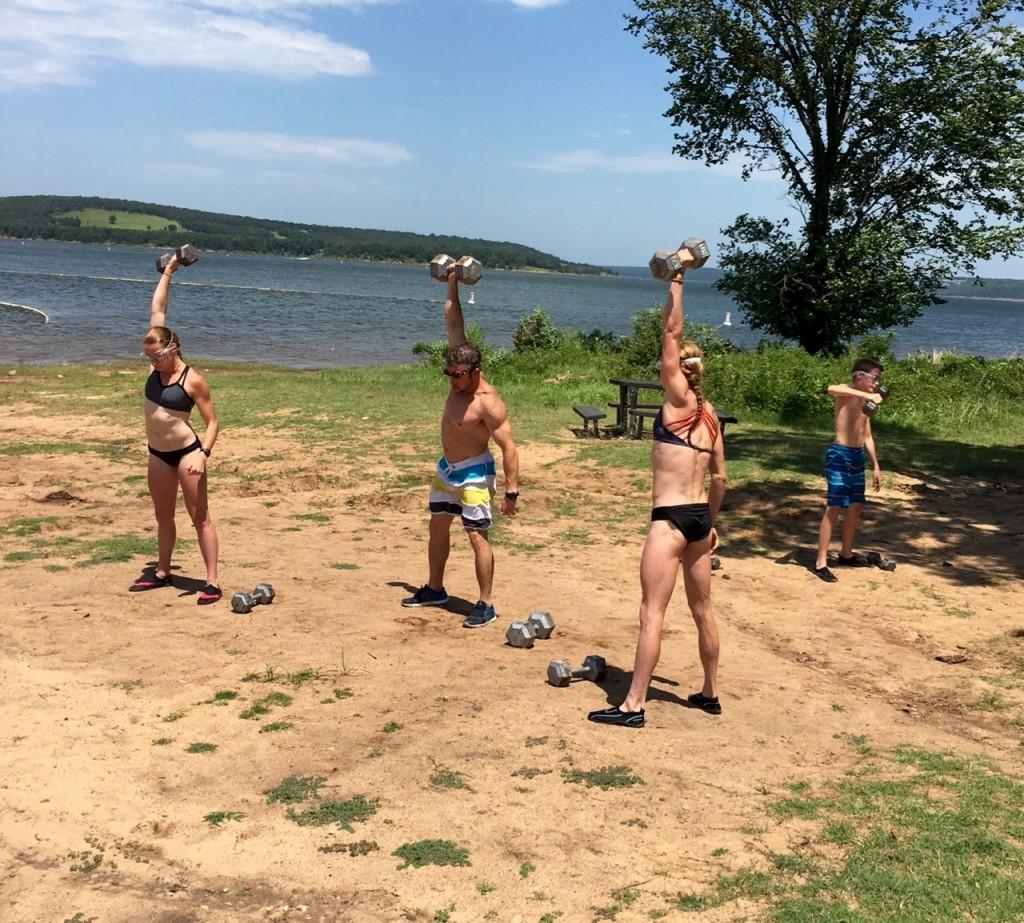 Skiatook Lake Games Training