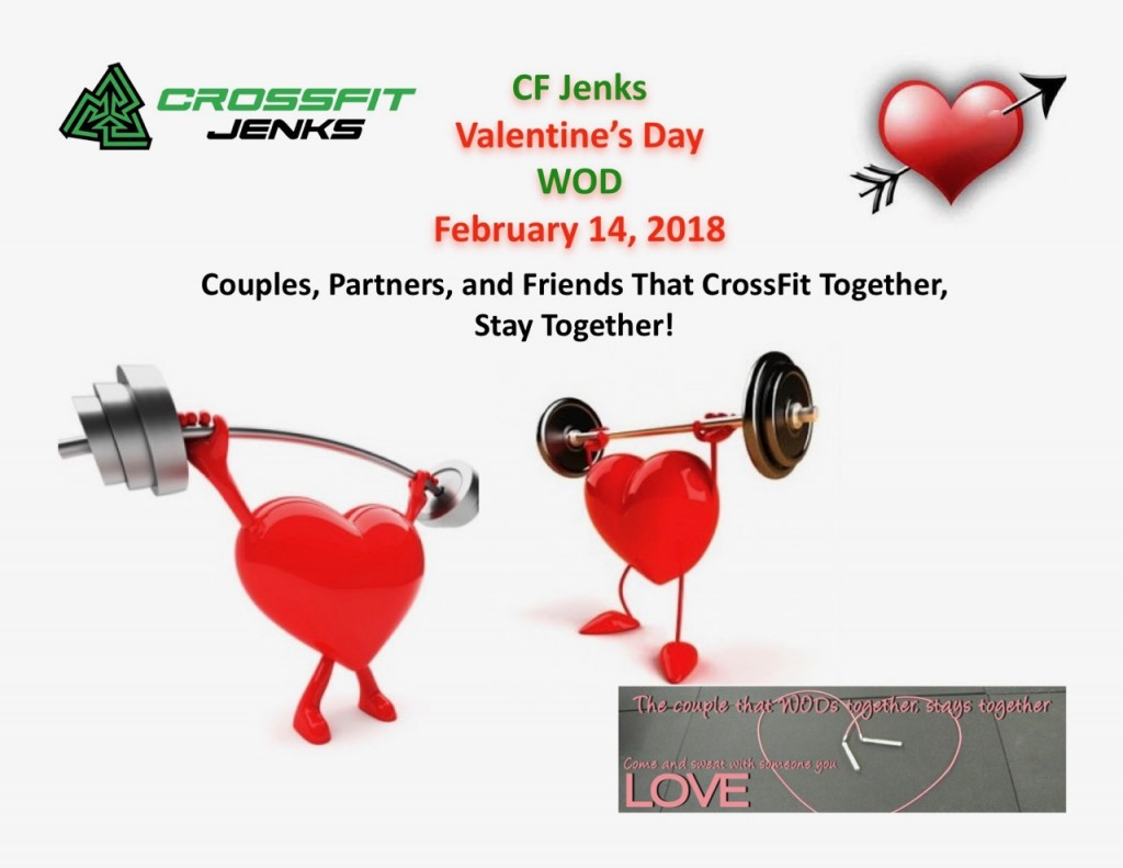 2018 CF Jenks Valentines Day WOD
